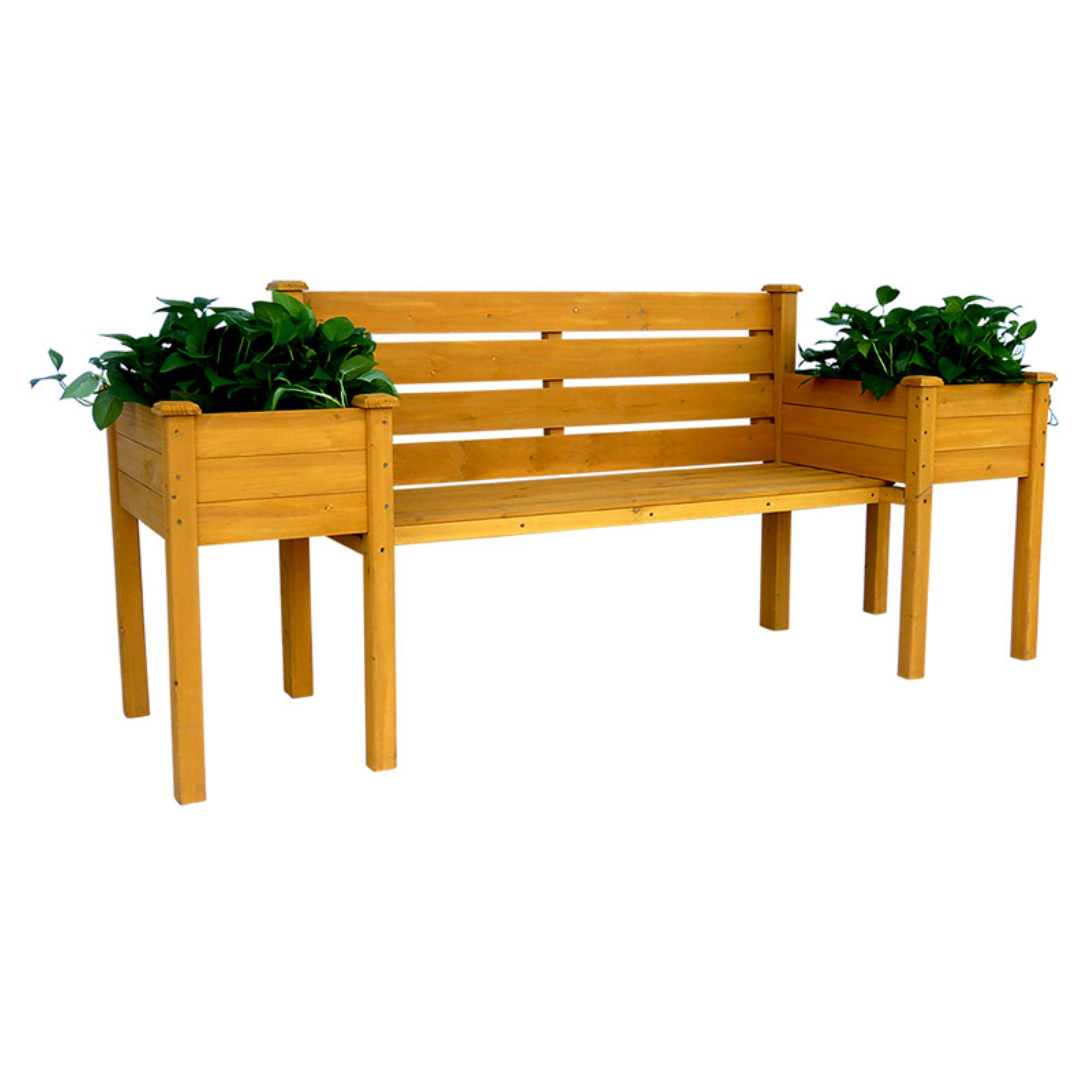 Leisure Season Planter Outdoor Bench