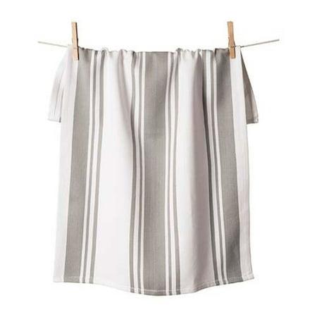 Bring it - Bring it Drizzle Grey Centerband Kitchen Towel 20