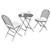 Kettler Cafe Napoli 3 Piece Round Patio Bistro Set