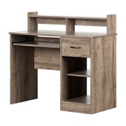 South Shore Smart Basics Small Desk with Keyboard Tray, Multiple Finishes