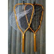 Rising Brookie 10 Net Fly Fishing Knurled Aluminum Handle Marked Hoop