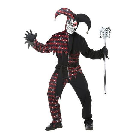 Sinister Jester Adult Costume