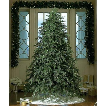 9' Downswept Hunter Fir Pre-Lit Artificial Christmas Tree - Clear Lights - 9' Downswept Hunter Fir Pre-Lit Artificial Christmas Tree - Clear