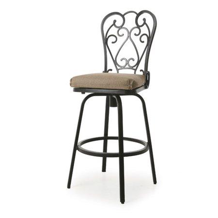 Strange Fleur De Lis Living Aloysius 26 Patio Bar Stool With Machost Co Dining Chair Design Ideas Machostcouk