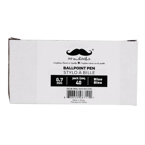 Ballpoint Pen, 0.7mm, 40 PCS / Box - Moustache® - image 2 de 3