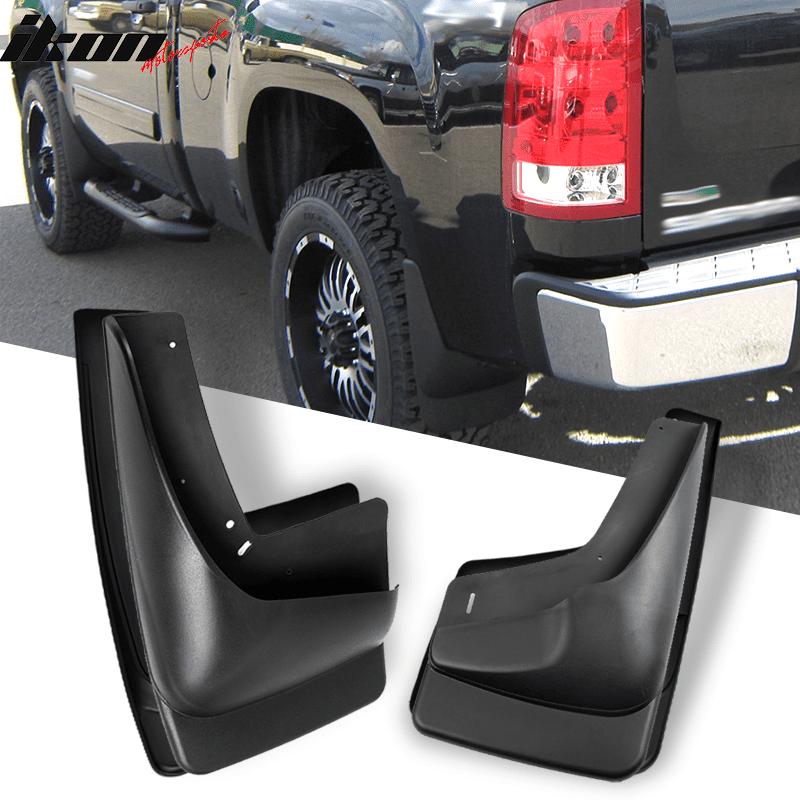 Husky Custom Fit Front /& Rear Mud Guards Fits 2007-2014 Chevrolet Silverado