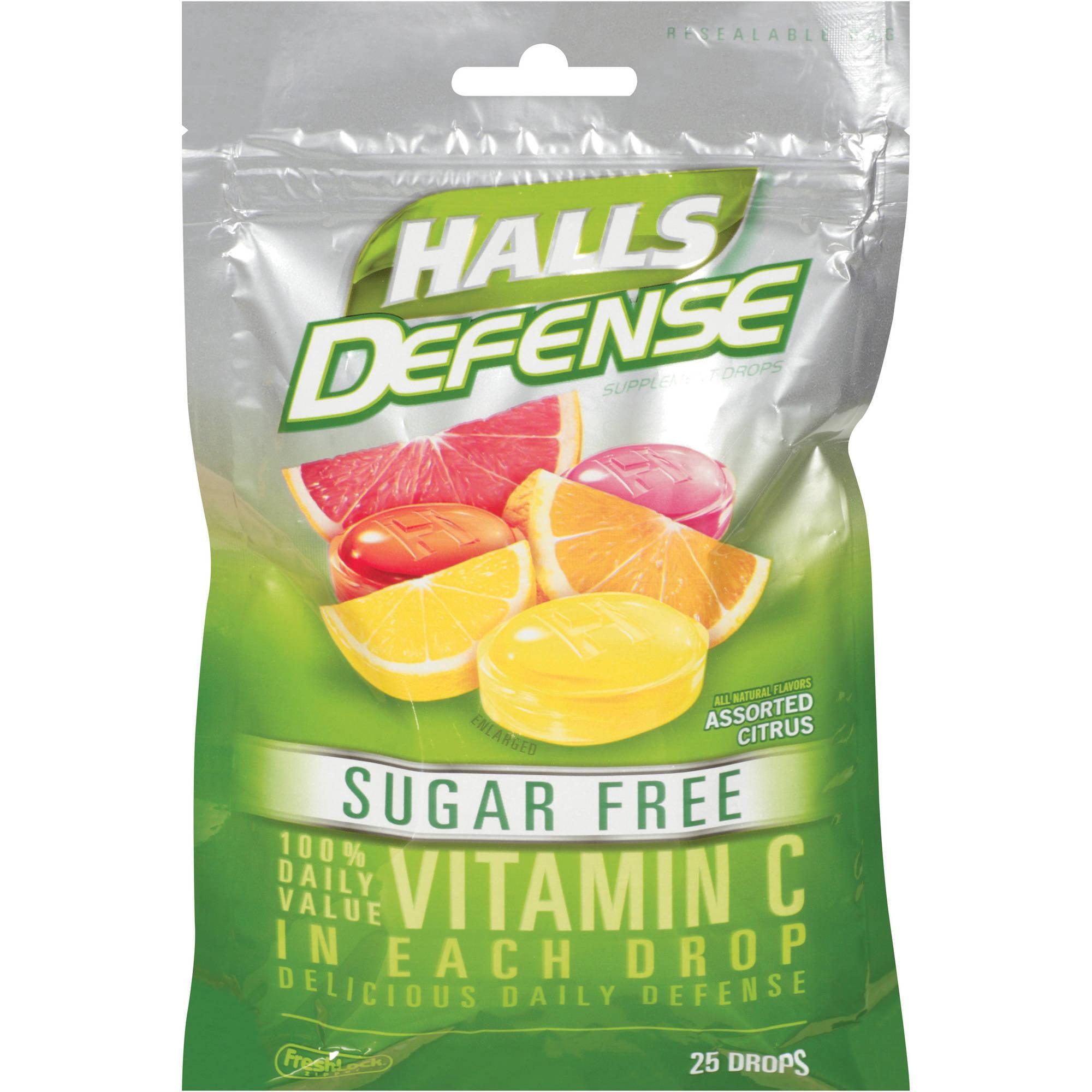 halls sugar free honey lemon cough suppressant oral anesthetic