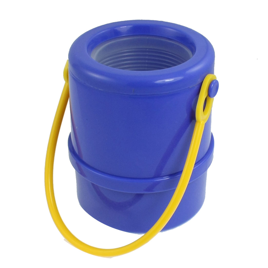 Car Interior Blue Bucket Shape Telescopic Gadget Umbrella Holder