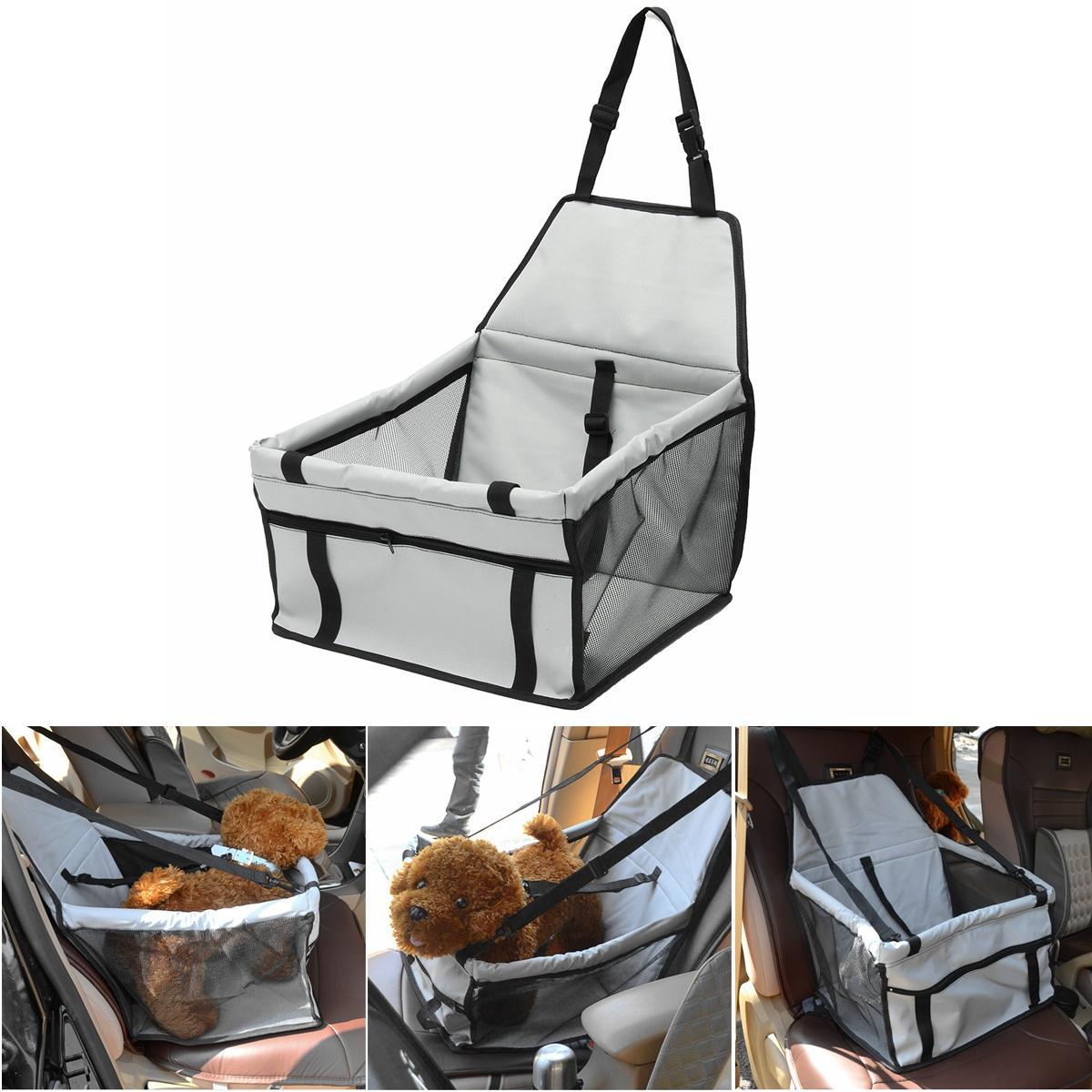 "15.7""×13.8""×9.8"" Portable outdoor sleeping bag Folding Pet Car Seat Dog Cat Small Animal Safe Travel Carrier Kennel Puppy Handbag Sided Bag"