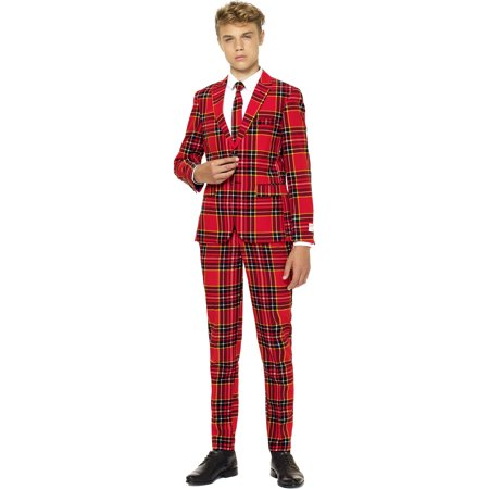 OppoSuits Teen Boys The Lumberjack Christmas Suit