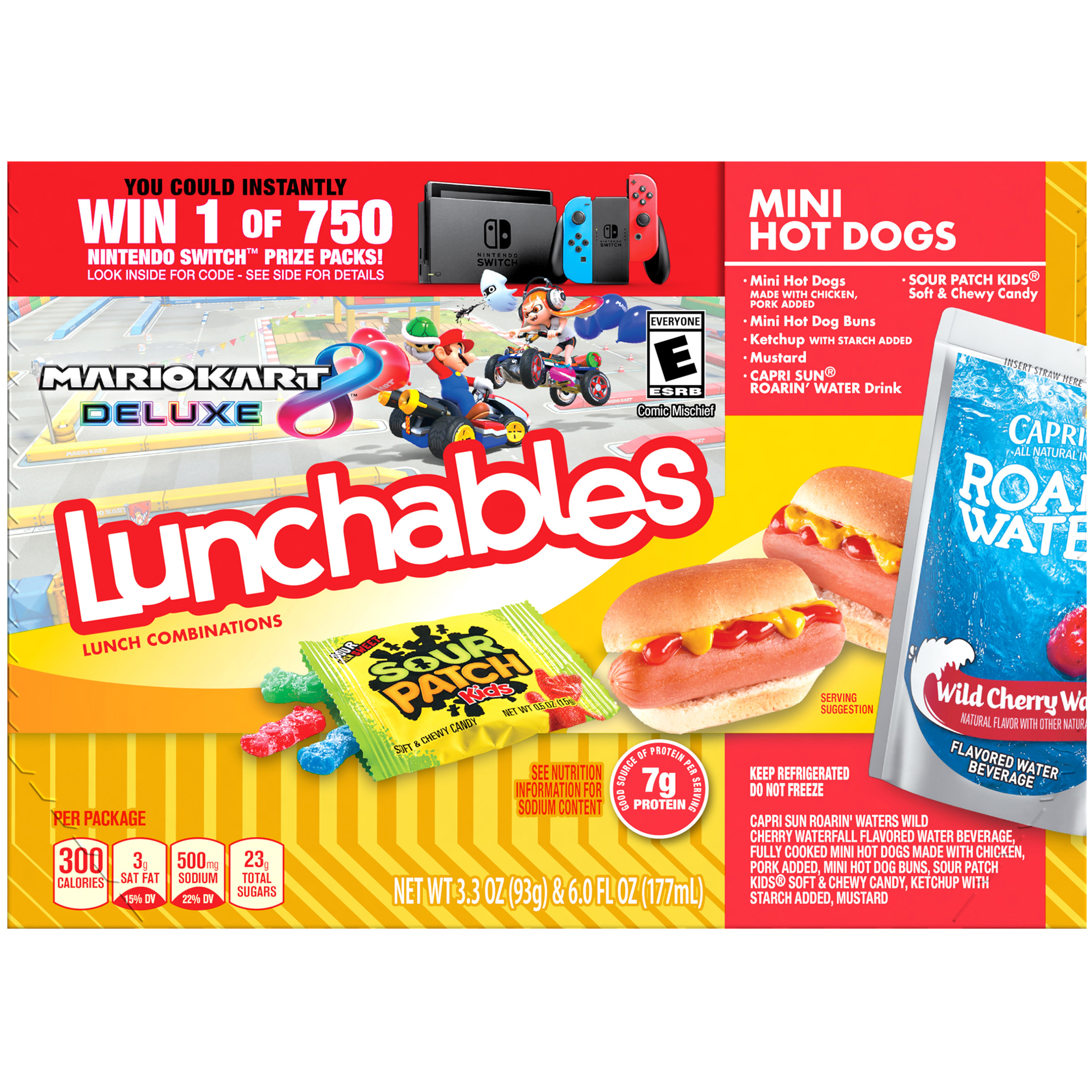 Lunchables Lunch Combinations Mini Hot Dogs 9 3 Oz Box Walmart Com Walmart Com