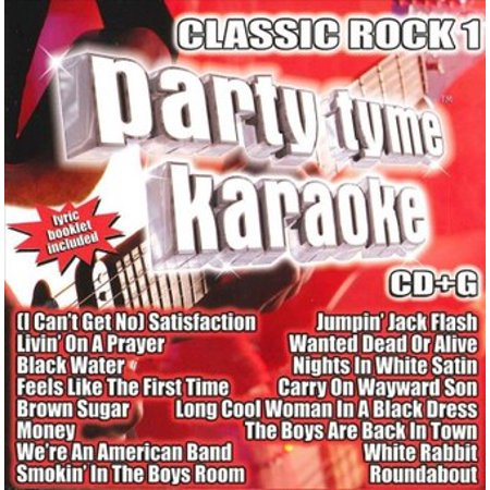 Party Tyme Karaoke: Classic Rock, Vol. 1 / Various (CD) - Classic Halloween Party Music