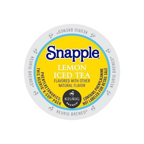 Snapple LEMON ICED TEA K CUP 88 COUNT
