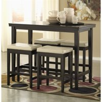 Ashley Kimonte 5 Piece Counter Height Dining Set in Ivory