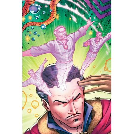 Strange Cover - Cover Art Featuring Dr. Strange Print Wall Art