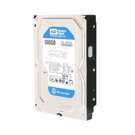 Western Digital 500GB SATA 3.5 Hard Drive - WD5000AAKX ...
