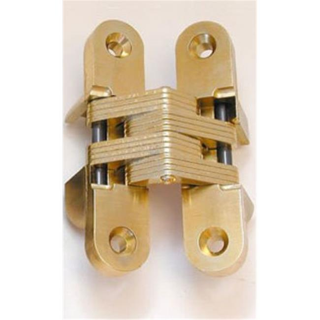 Universal Ind Products Ss203 4 . 75 inch Hinge Invisible Concealed - Satin Brass