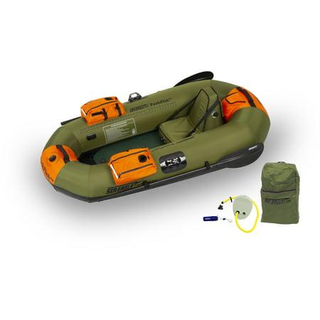 Sea Eagle PackFish7 Inflatable Fishing Boat Pro Fishing Package Deep Sea Fishing Boat