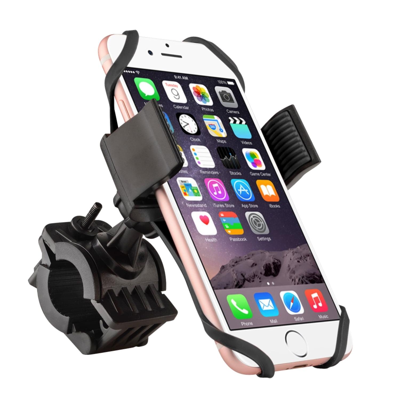 Insten Bike Bicycle Motorcycle Ram Handlebar Phone Holder with Secure Grip & 360 Ball