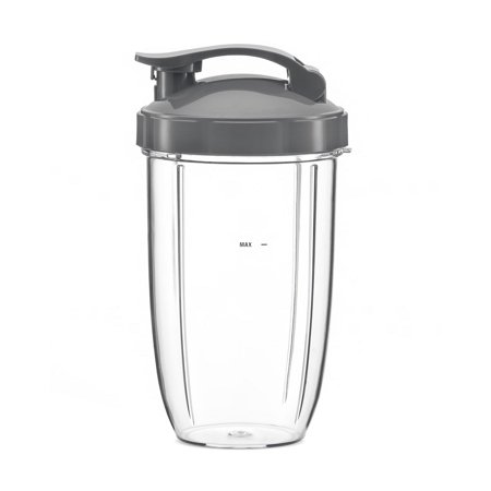 Design 24 Ounce Teapot - NutriBullet 24Oz 24 Oz Ounce Medium Cup with Flip Top replacement part for Nutri Bullet 600W 900W