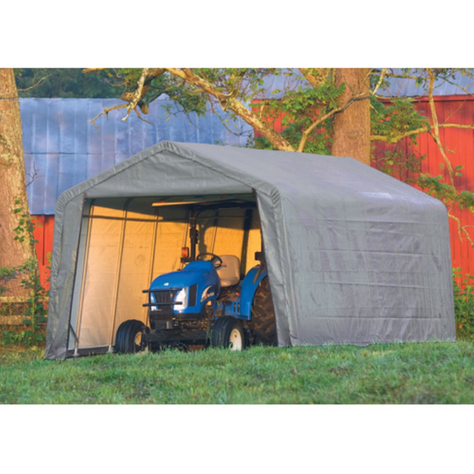 Shelterlogic 12' x 24' x 8' Peak Style Shelter