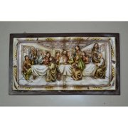 EXTRA SMALL LAST SUPPER WALL PLAQUE