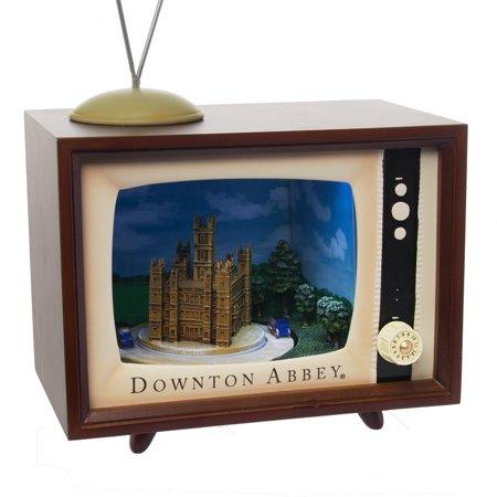 Downton Abbey Musical TV Set Animated Electronic Music Box Vintage (Music Box Set)