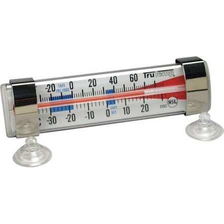 TRUTEMP 3503 Refrigerator Freezer Thermometer, SS