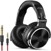 OneOdio Pro-10 Wired On-Ear & Over-Ear DJ Headphones Studio Headphone for Mixing and Podcasting-Black