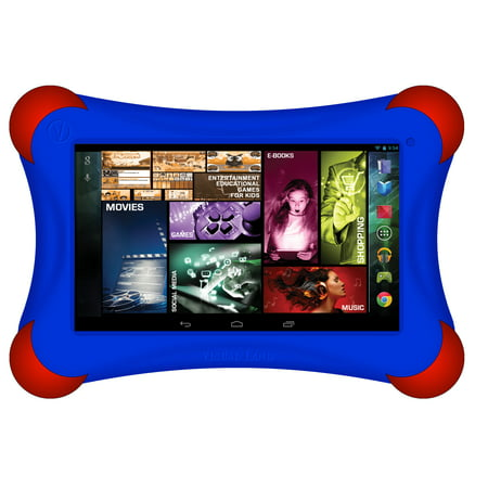 "Visual Land Prestige 7"" Quad Core Tablet 16GB includes Bumper"
