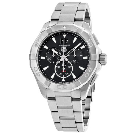 Tag Heuer Aquaracer 43mm Chrono Date Quartz Mens Watch CAY1110.BA0927