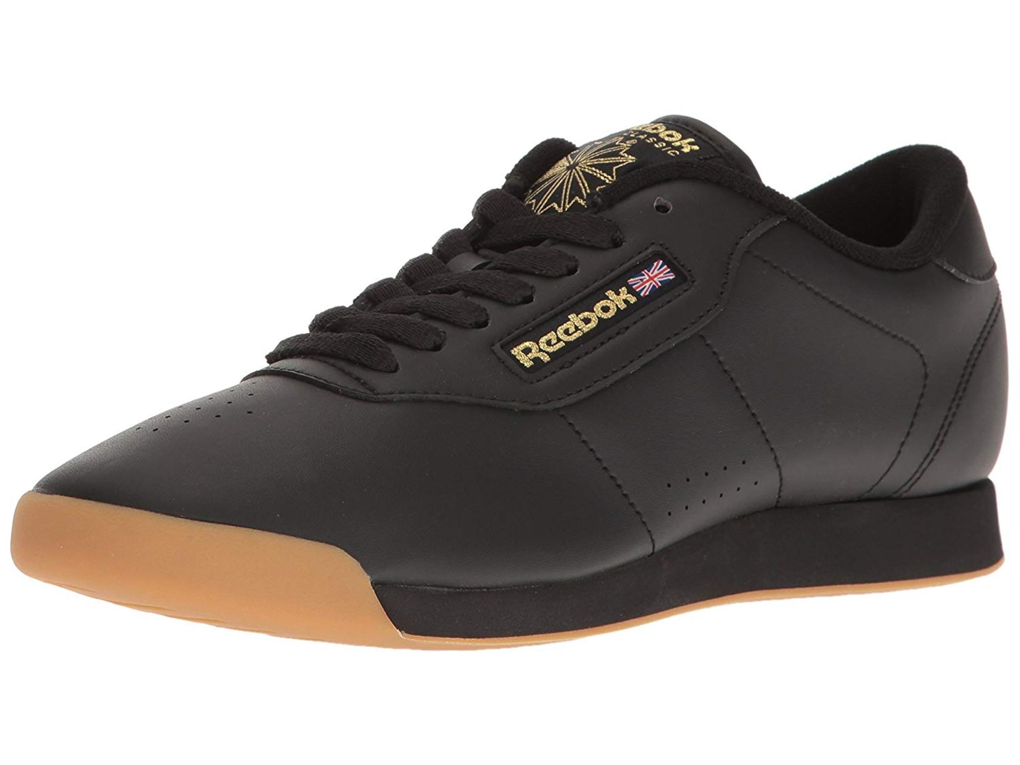 03796916c16 Reebok - Reebok Womens Princess Leather Low Top Lace Up Fashion Sneakers -  Walmart.com
