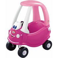 Little Tikes Princess Cozy Coupe Ride-On, Dark Pink