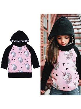 9baaac1515ca5 Product Image BOBORA Baby Girls Warm Long Sleeve Hoodies Pullover Jacket  Outerwear Sweatshirt