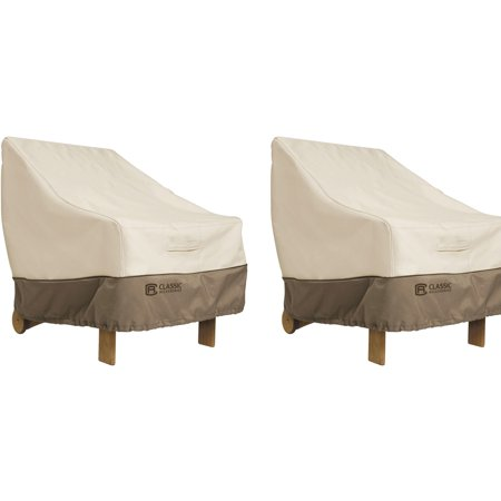 Classic Accessories Veranda Patio Chair Cover 2-Pack  Value Bundle ()