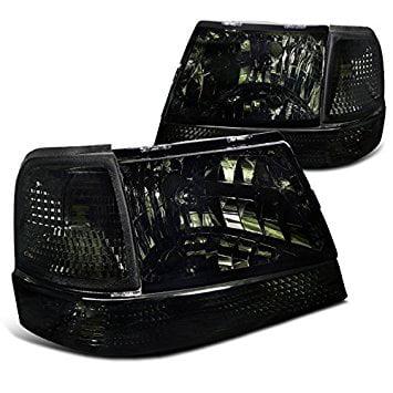 Ford Ranger Bumper Cover (Ford Ranger Headlights Smoke+Corner Turn Signal Bumper Lamp )