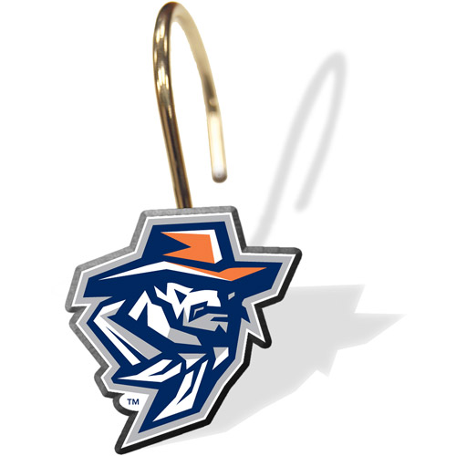NCAA UTEP Miners Shower Curtain Rings, 12pk