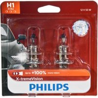 Philips X-Tremevision Headlight H1, P14,5S, Glass, Always Change In Pairs!