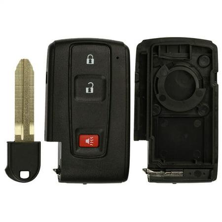 KeylessOption Keyless Entry Remote Smart Key Fob Shell Case MOZB31EG, MOZB21TG for 2004-2009 Toyota Prius