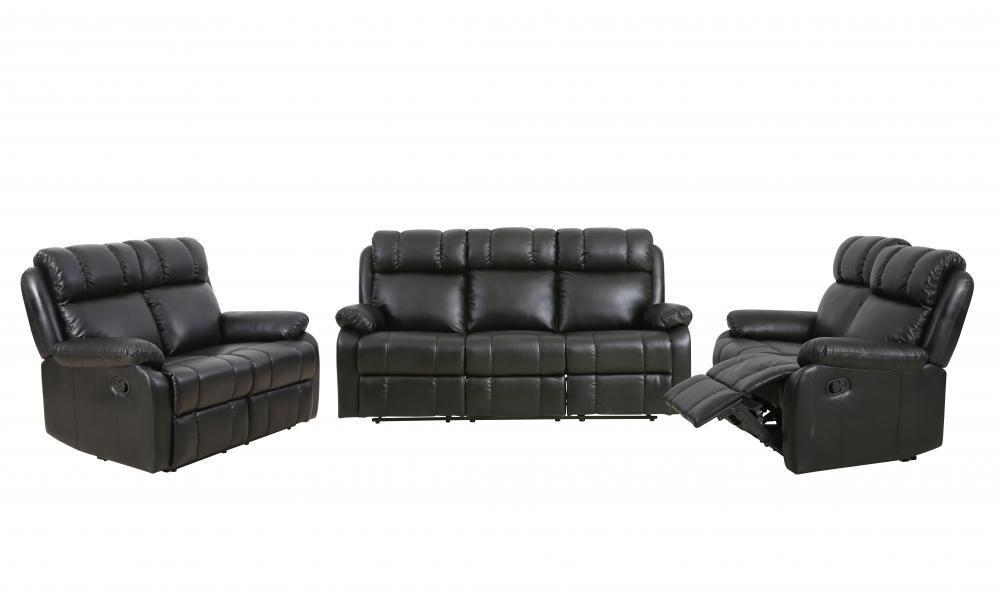 Product Image Loveseat Chaise Reclining Couch Recliner Sofa Chair Leather  Accent Chair Set