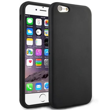 apple iphone 6 case silicone black