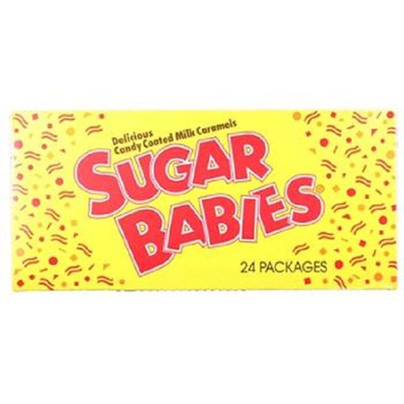 Product Of Sugar Babies, Milk Caramel Pops, Count 24 (1.7 oz) - Sugar Candy / Grab Varieties & Flavors](Baby Lollipops)