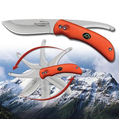 Outdoor Edge Swingblaze Orange Fixed Blade Knife