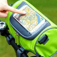 Tommyfit Bicycle Front Tube Cycling Bag Touchscreen Mobile Phone Pouch