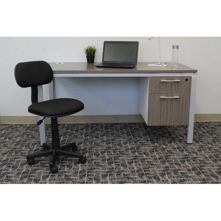 boss office products steno desk chair walmart com