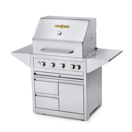 "Estate Elite 30"" Double Drawer Cart Grill -Natrual Gas"
