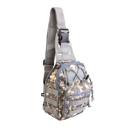 56837dd7c754 Outdoor Military Tactical Shoulder Chest Sling Backpack