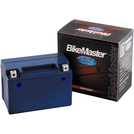 BikeMaster TruGel Battery 180 Cranking Amps 151L x 87W x 145H (Best Marine Cranking Battery)
