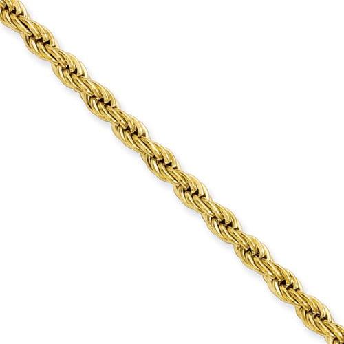 Mia Diamonds 14k White Gold .95mm Twisted Box Chain Necklace