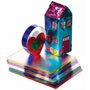 Hygloss Metallic Foil Paper, 20 x 26 Inches, 12 Sheets, Assorted Color, Pack of 12